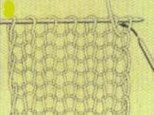 Вязание спицамизакрепление последнего ряда 8
